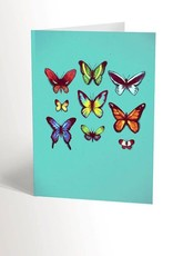 Valérie Boivin Illustrations Greeting Card - Butterfly
