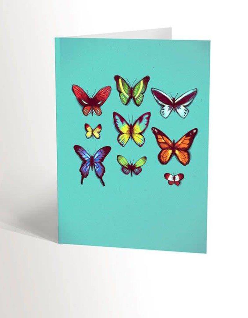 Valérie Boivin Illustrations Carte de souhaits - Papillon