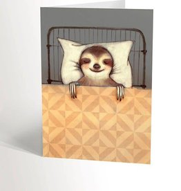 Valérie Boivin Illustrations Greeting Card - Sloth