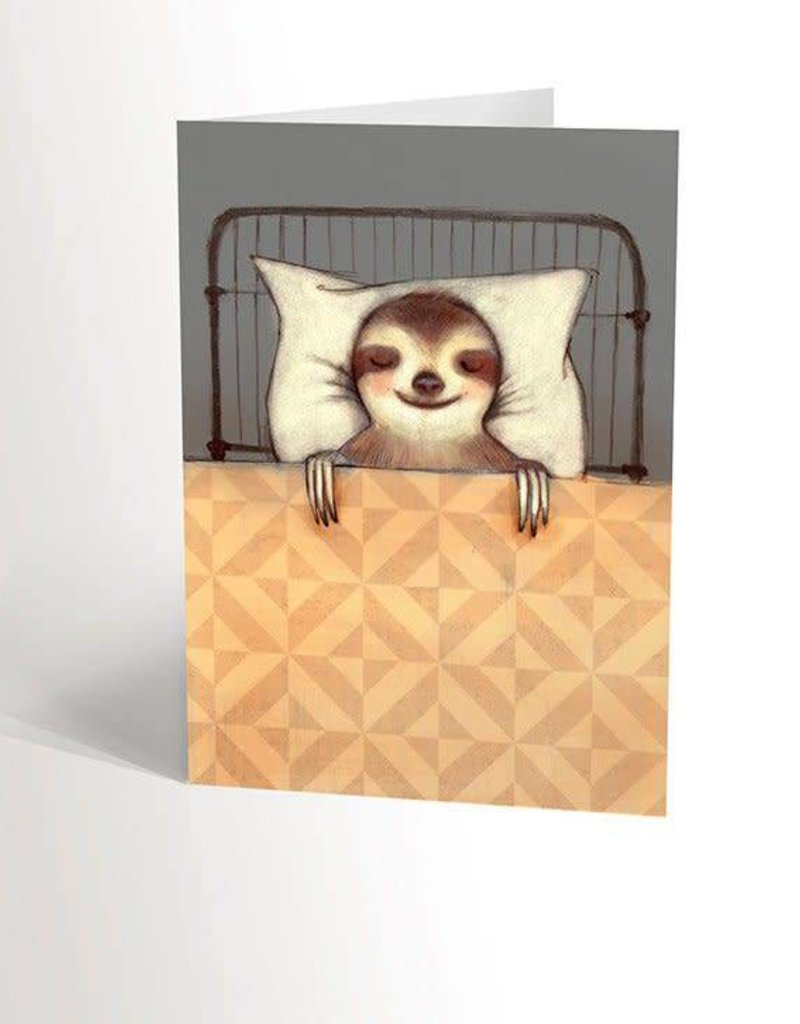 Valérie Boivin Illustrations Greeting Card - Sloth