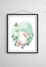 Zack et Livia Illustration - Rabbit