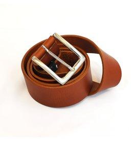 Nobleman&Fils Ceinture tan 3,5 cm