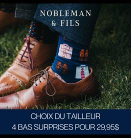 Nobleman&Fils 3 paires pour 29,95$