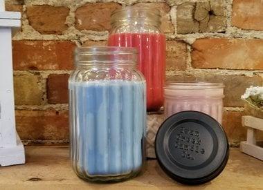 Homespun Jar