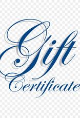 Gift Certificate (Ecom)