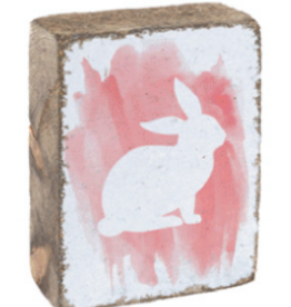 Rustic Marlin Rustic Marlin - Symbol Blocks Watercolor Bunny