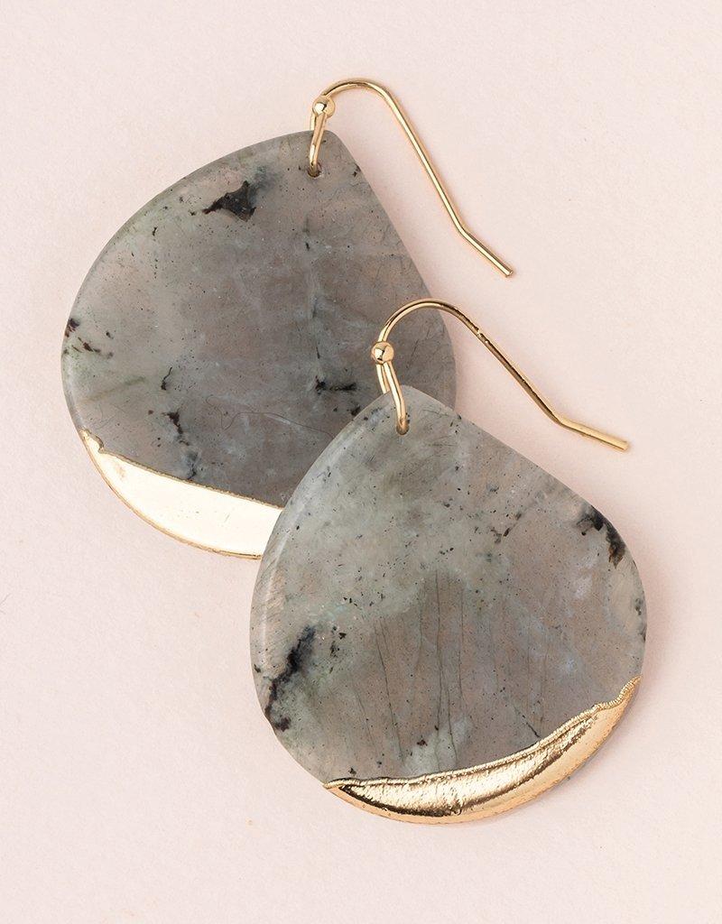 Scout Curated Wears - Stone Dipped Teardrop Earring