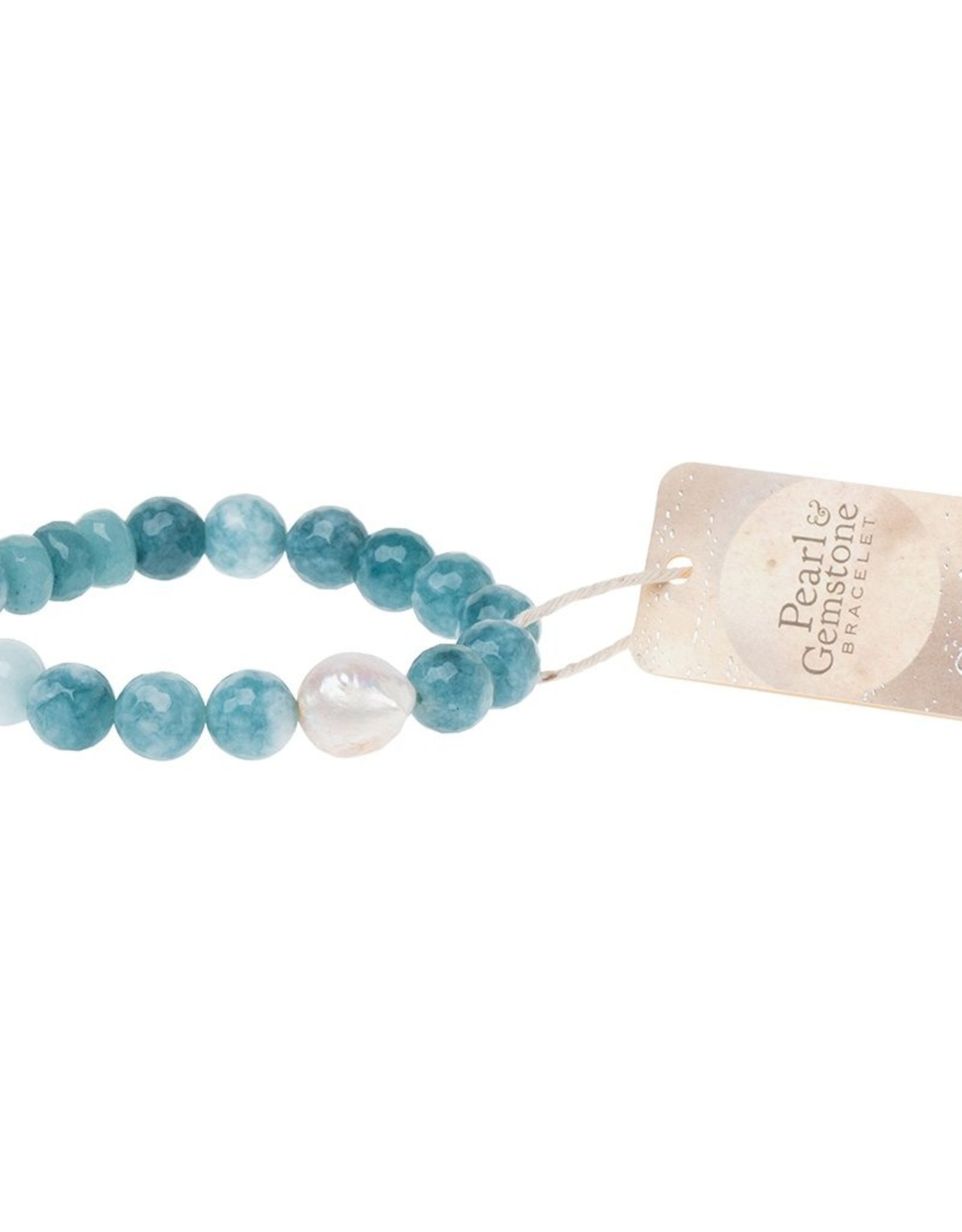 Scout Curated Wears Scout Curated Wears - Peal & Gemstone Bracelet