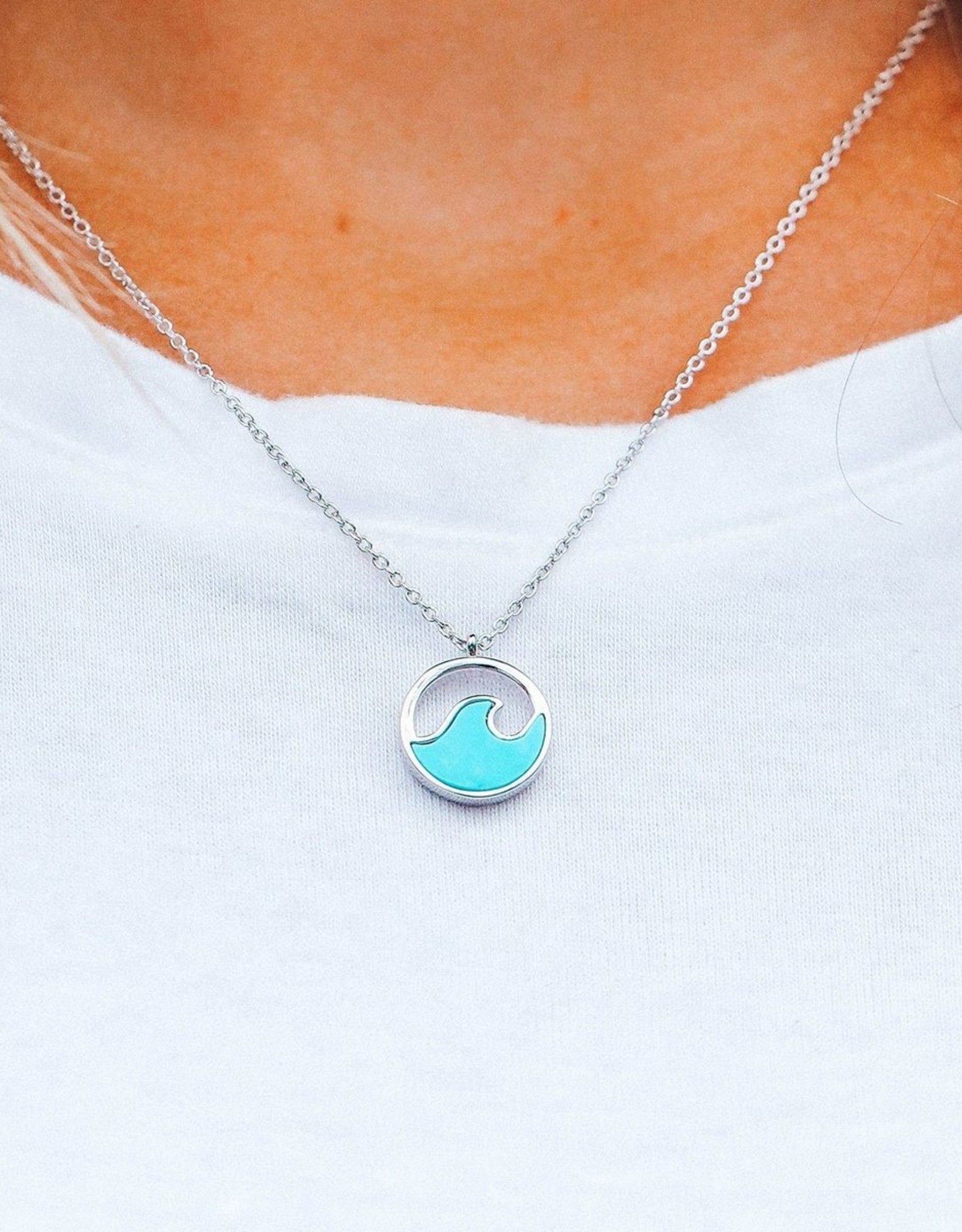Pura Vida Pura Vida - Stone Wave Necklace
