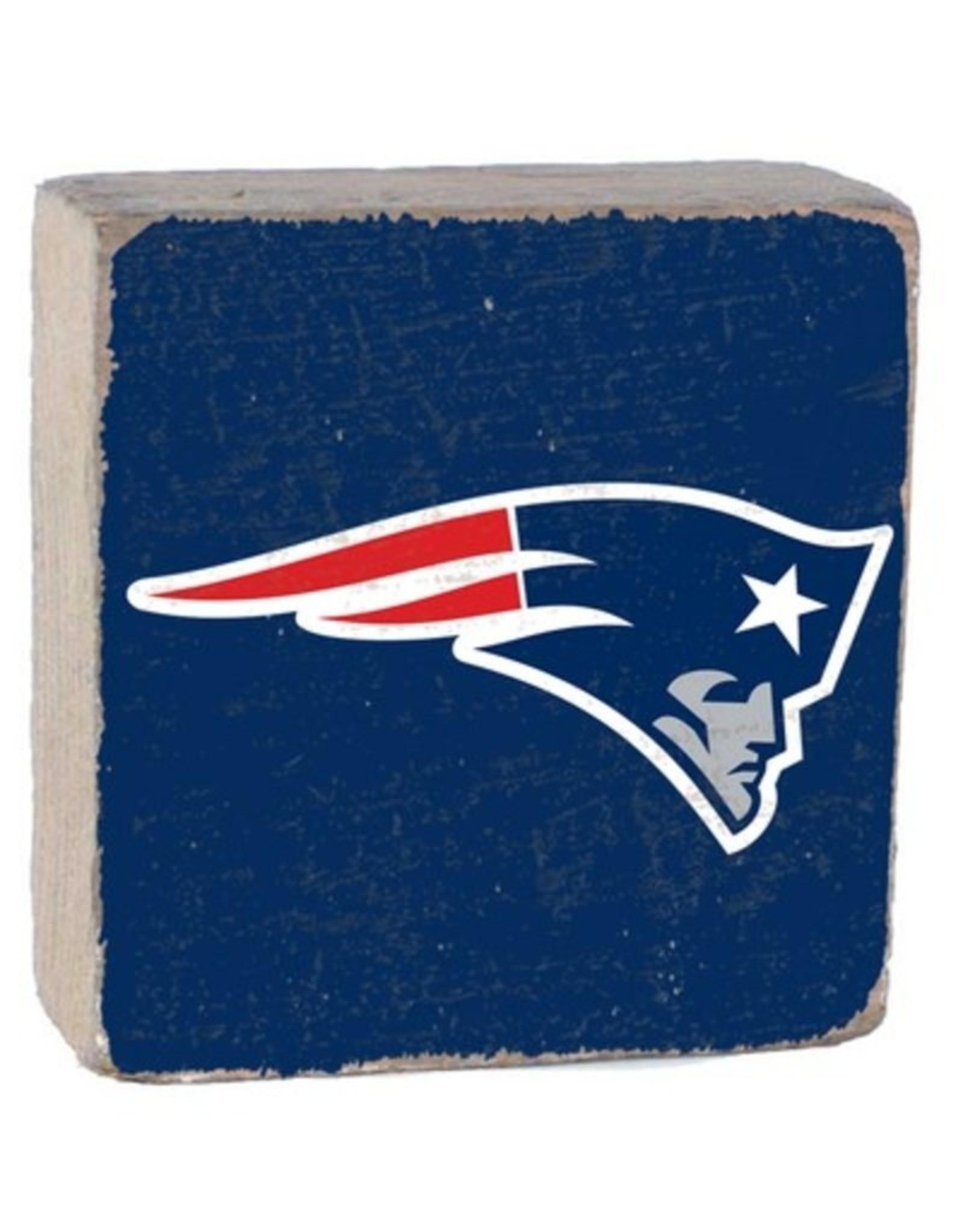 Rustic Marlin Rustic Marlin - NFL Patriots Block - Blue