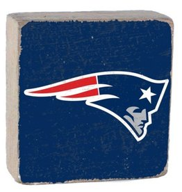 Rustic Marlin Rustic Marlin - NFL Patriots Block - Blue