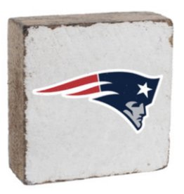 Rustic Marlin Rustic Marlin - NFL Patriots Block - White