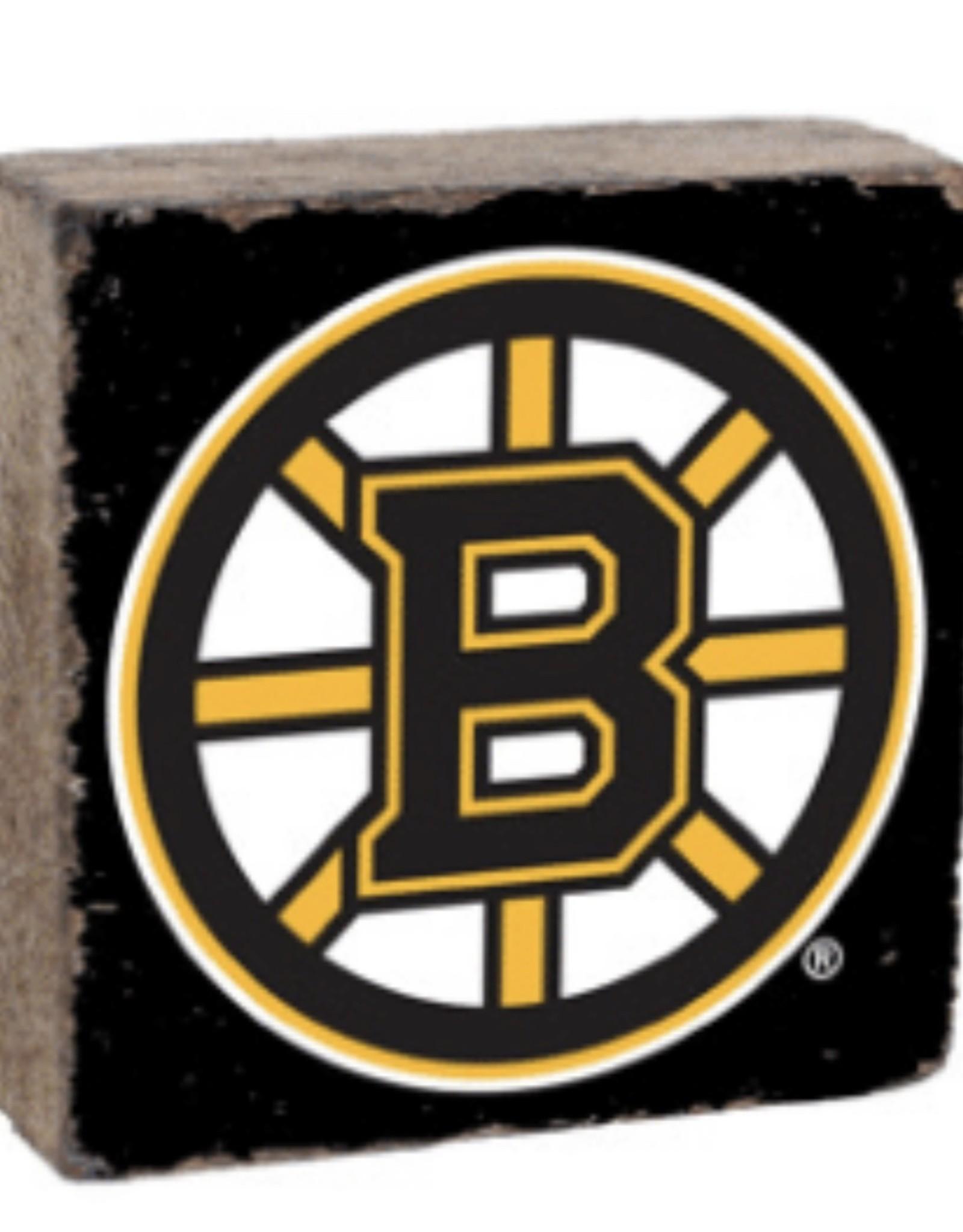Rustic Marlin Rustic Marlin - NHL Bruins Block -Black