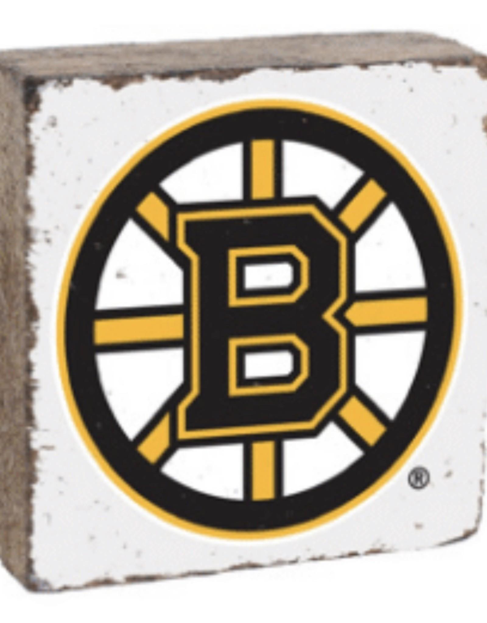 Rustic Marlin Rustic Marlin - NHL Bruins Block - White