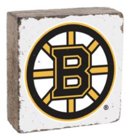 Rustic Marlin Rustic Marlin - NHL Bruins Block - White