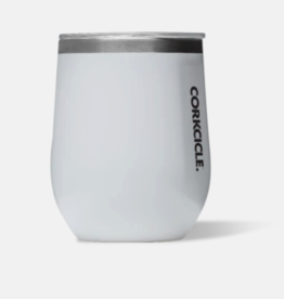 Corkcicle Corkcicle - 12oz Stemless Gloss White