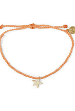 Puravida Pura Vida - Charm Bracelet Starfish - Coral