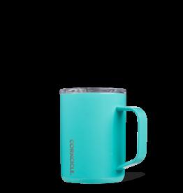Corkcicle Corkcicle - 16oz Mug Turquoise