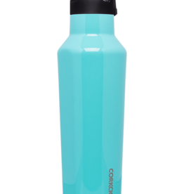 Corkcicle - 20oz Sport Canteen Turquoise