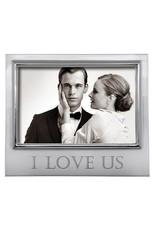 Mariposa Mariposa - I Love Us 4 x 6 Signature Frame