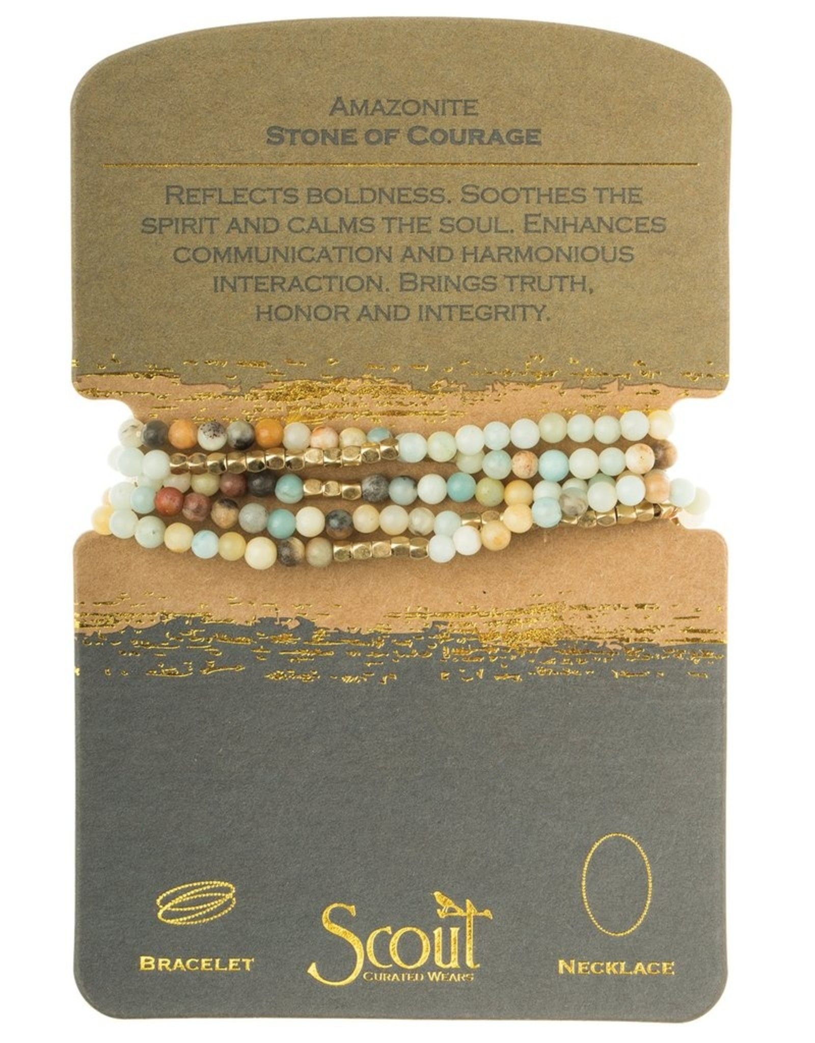 Scout Curated Wears Scout Curated Wears - Stone Wrap of Courage