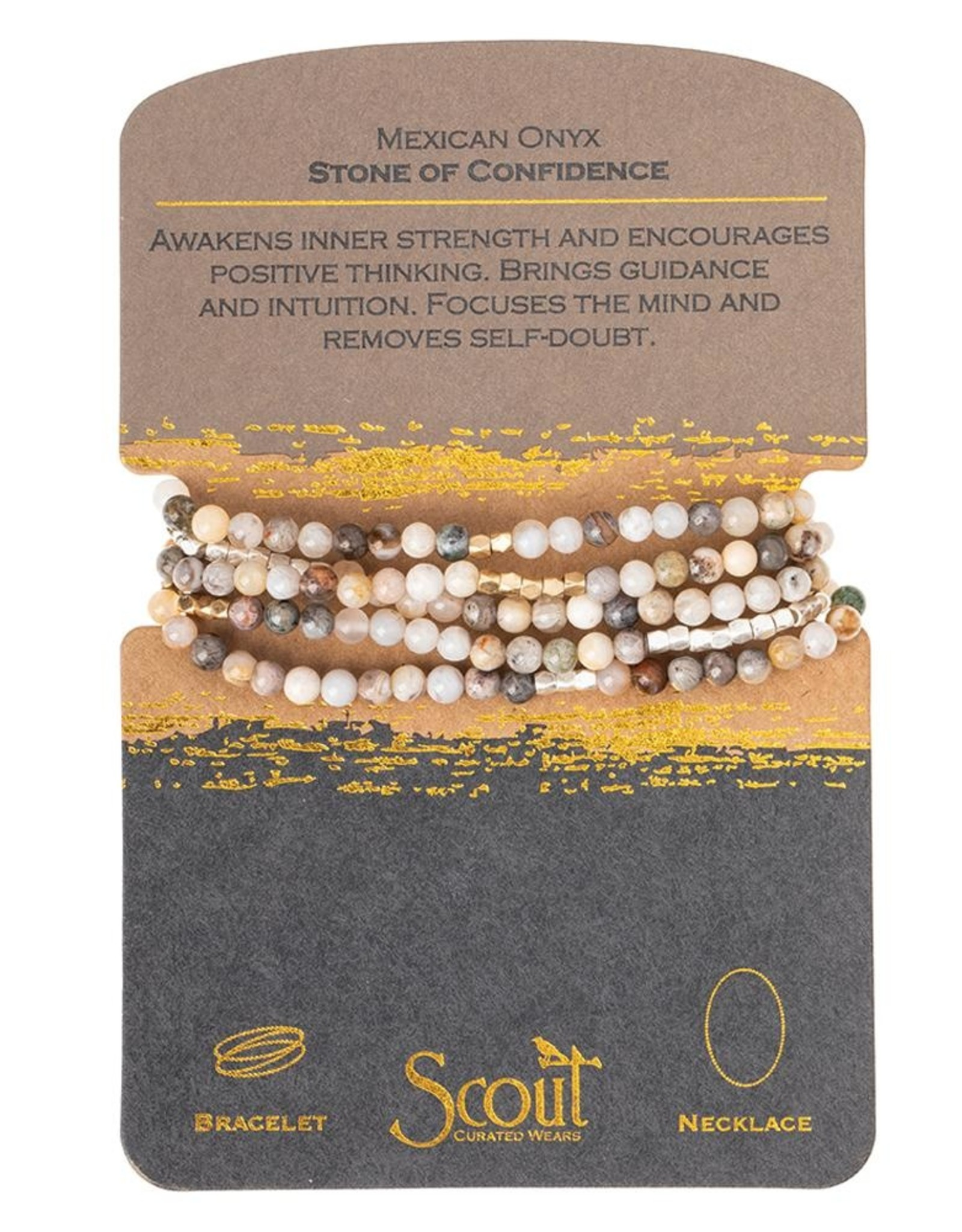 Scout Curated Wears Scout Curated Wears - Stone Wrap - Stone Of Confidence