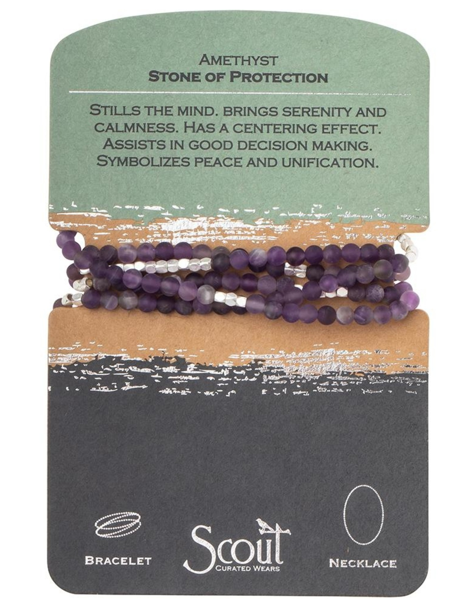 Scout Curated Wears Scout Curated Wears - Stone Wrap - Stone Of Protection