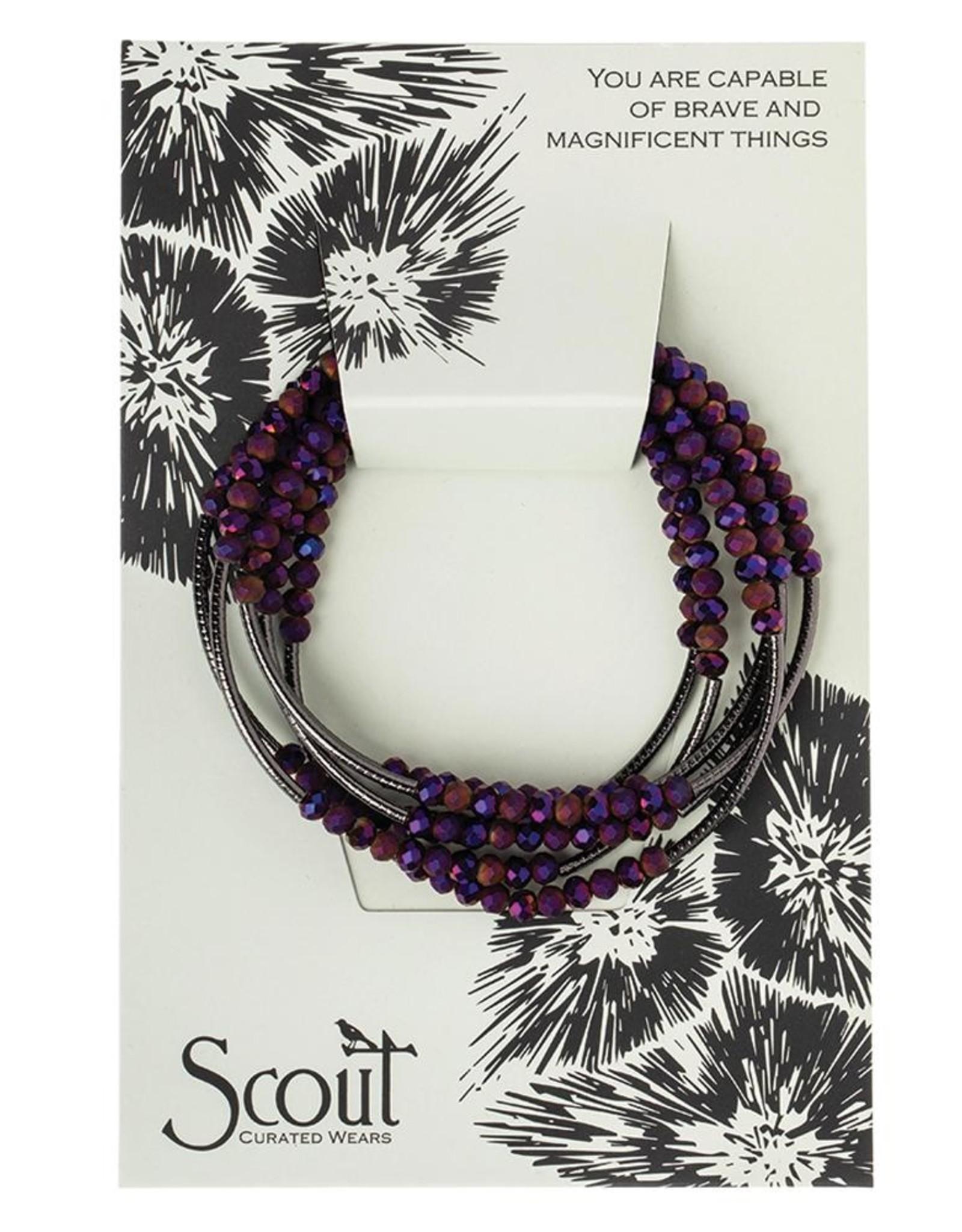 Scout Curated Wears Scout Curated Wears - Scout Wrap  - Dahlia/hematite