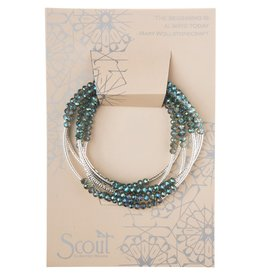 Scout Curated Wears - Scout Wrap Seabreeze/Silver