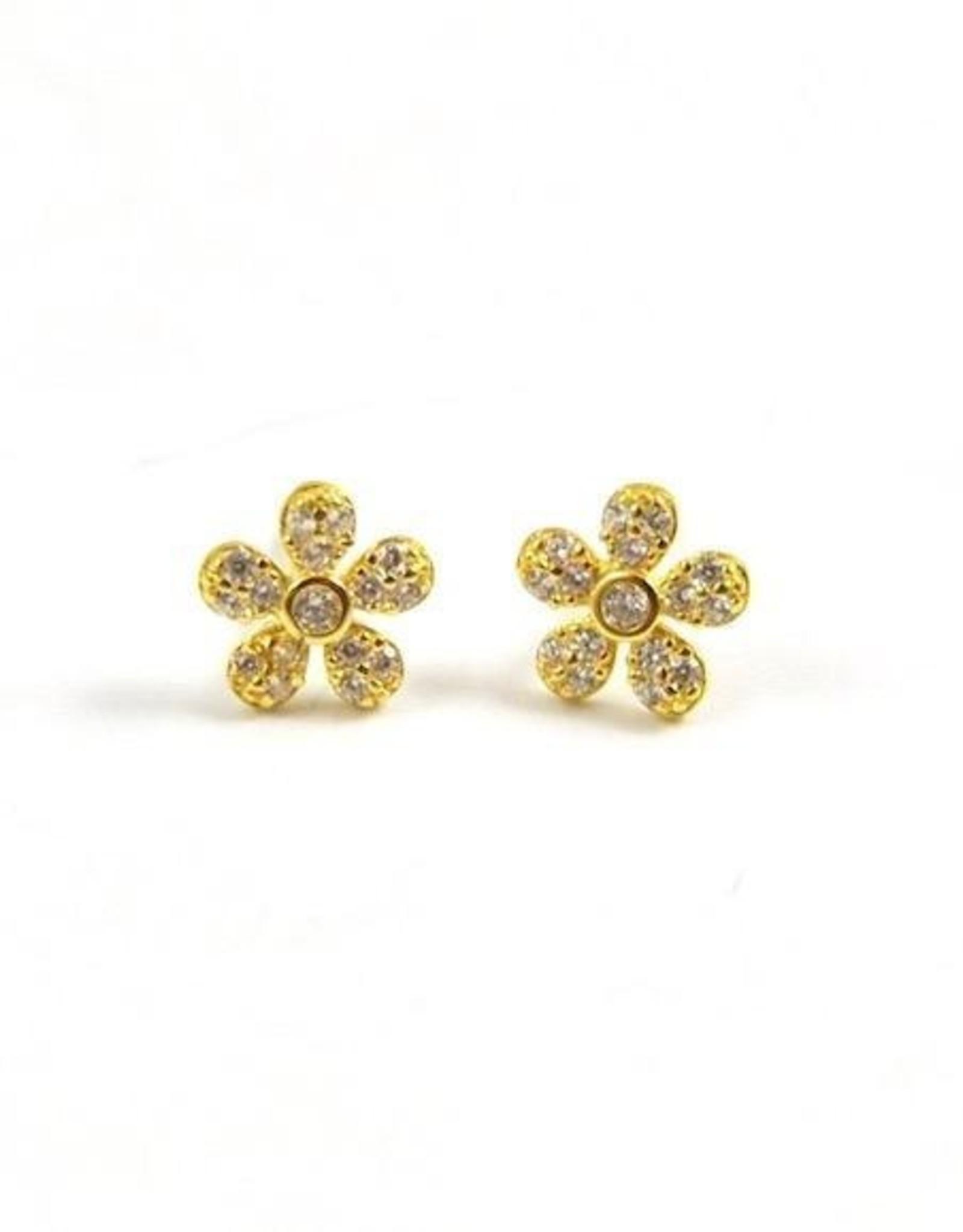 f.y.b. f.y.b. - Earrings Flower Studs Gold