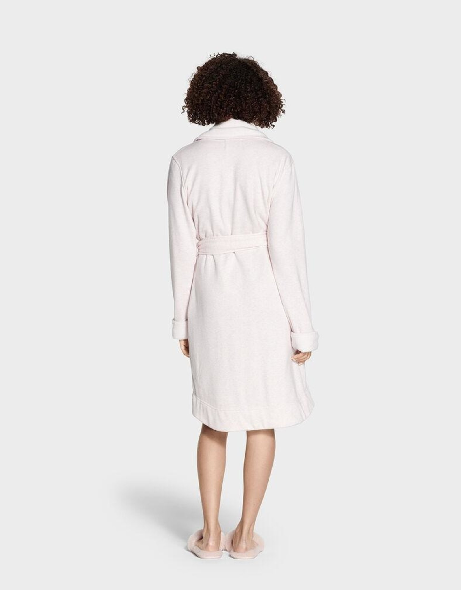 UGG - Woman's Blanche Seal Pink Heather Lightweight Robe