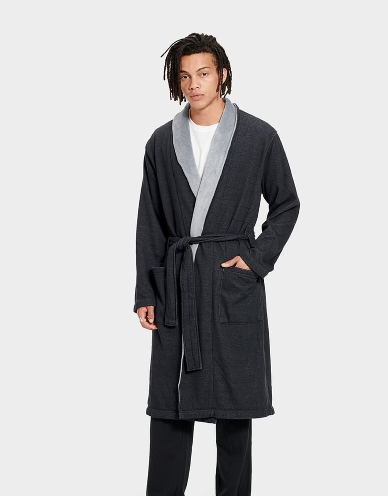 UGG UGG - Men's Robinson Robe Black Heather