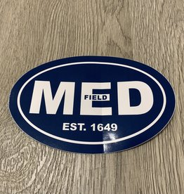 "MED Navy 4"" x 6"" Sticker"