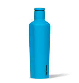 Corkcicle - 16oz Canteen  Neon Blue