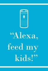 Paperproducts Design PPD - Cocktail Napkins Alexa Feed My Kids