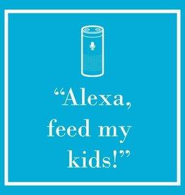 PPD - Cocktail Napkins Alexa Feed My Kids