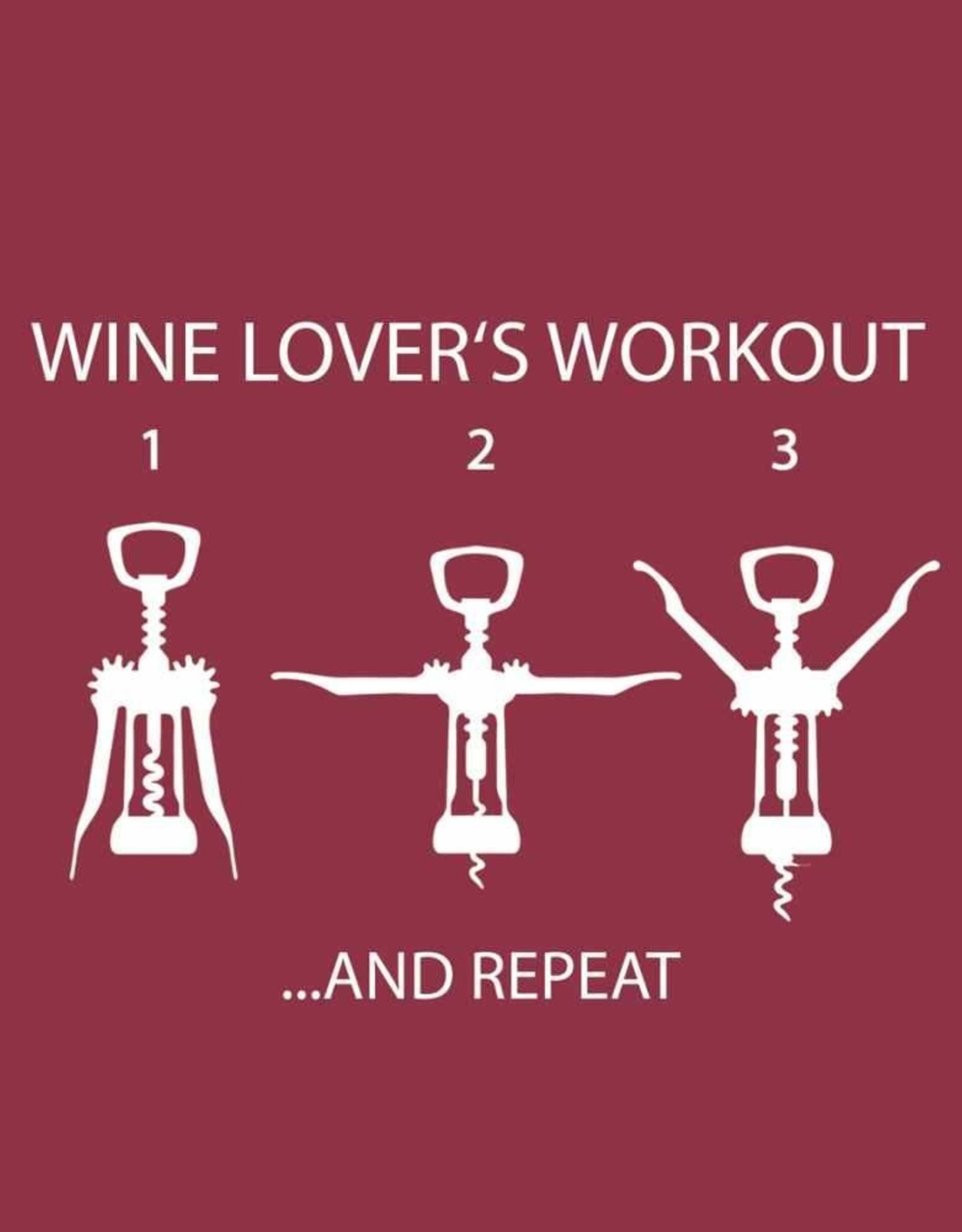 Paperproducts Design PPD - Cocktail Napkins Wine Lover's Workout