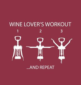 PPD - Cocktail Napkins Wine Lover's Workout