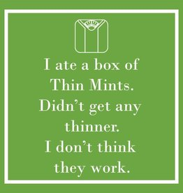 PPD - Cocktail Napkins Thin Mints