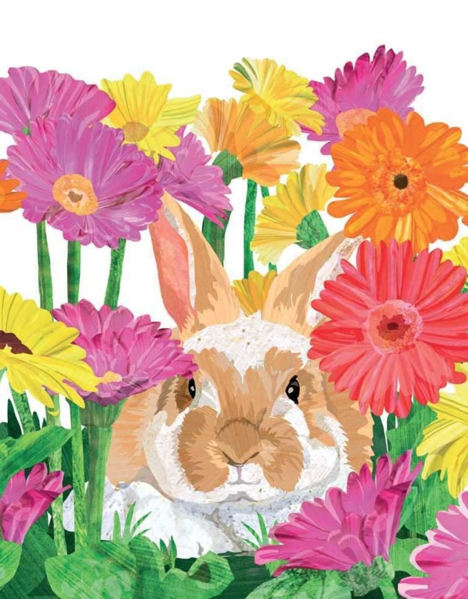 Paperproducts Design PPD - Cocktail Napkins Gerbera Bunny