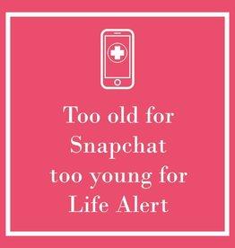 PPD - Cocktail Napkins Snapchat