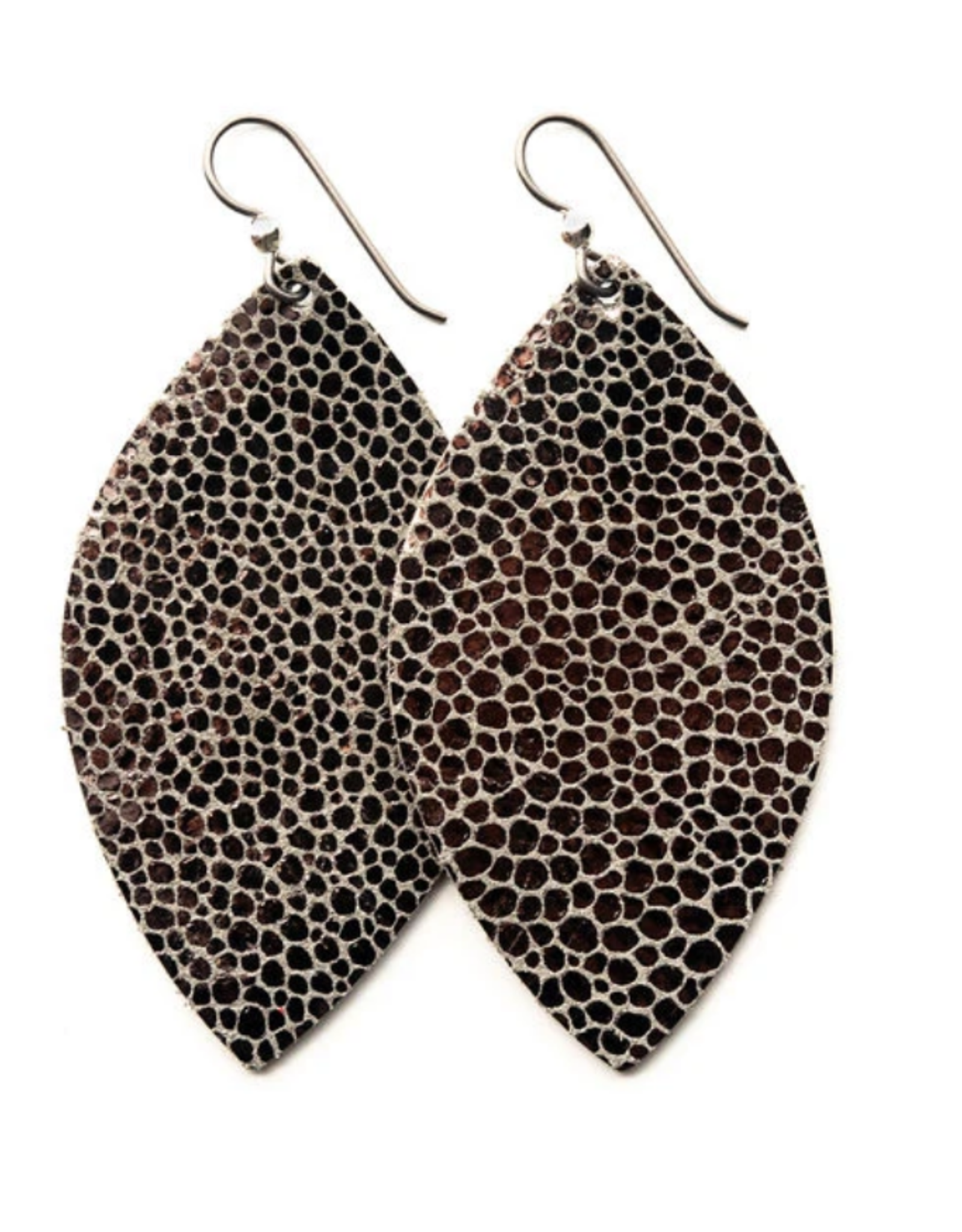 Keva - Earings Anthracite Speckled