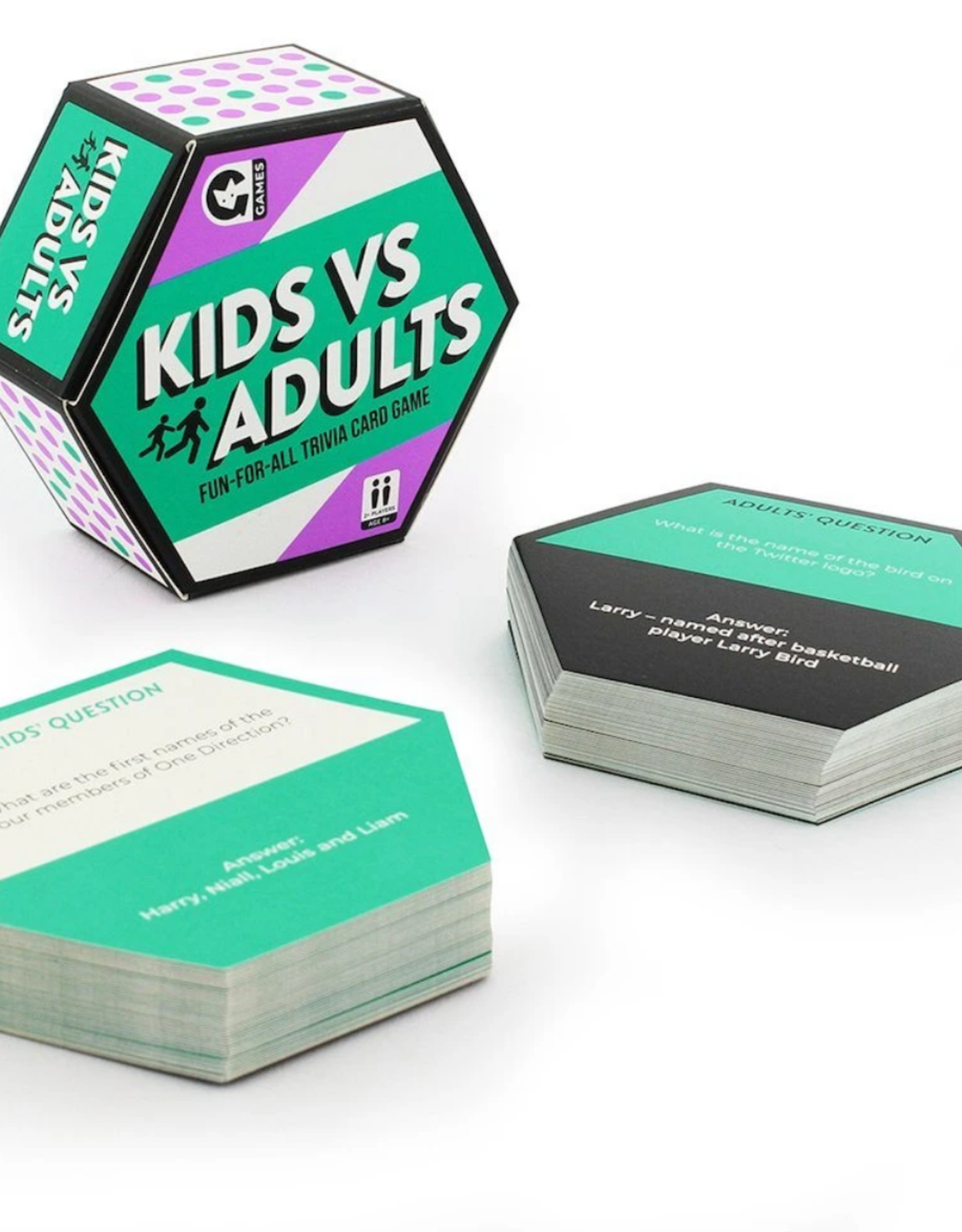 Ginger Fox Ginger Fox - Kids vs. Adults Card Game
