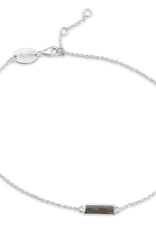 Dune Jewelry Dune Jewelry - Delicate Dest Bar Anklet Cape Cod