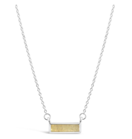 Dune Jewelry - Delicate Dest Bar Necklace