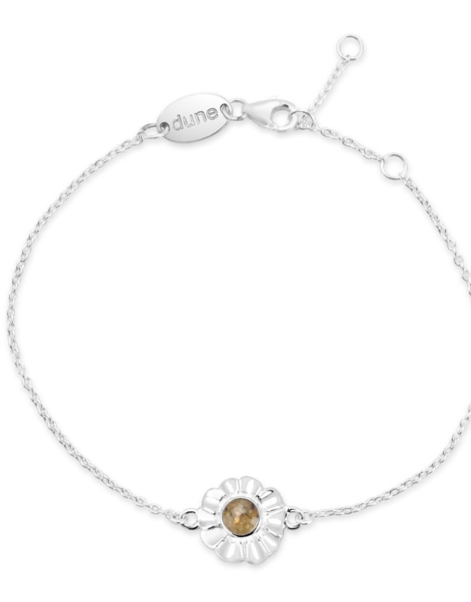 Dune Jewelry Dune Jewelry - Delicate Dune Flower Bracelet Cape Cod