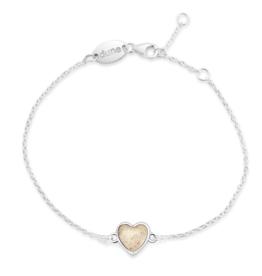 Dune Jewelry - Delicate Dest Heart Bracelet