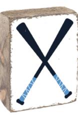 Rustic Marlin Rustic Marlin - Wood Block Baseball Bats