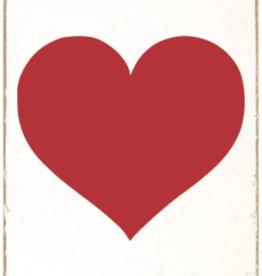 Rustic Marlin Rustic Marlin - Wood Block Red Heart