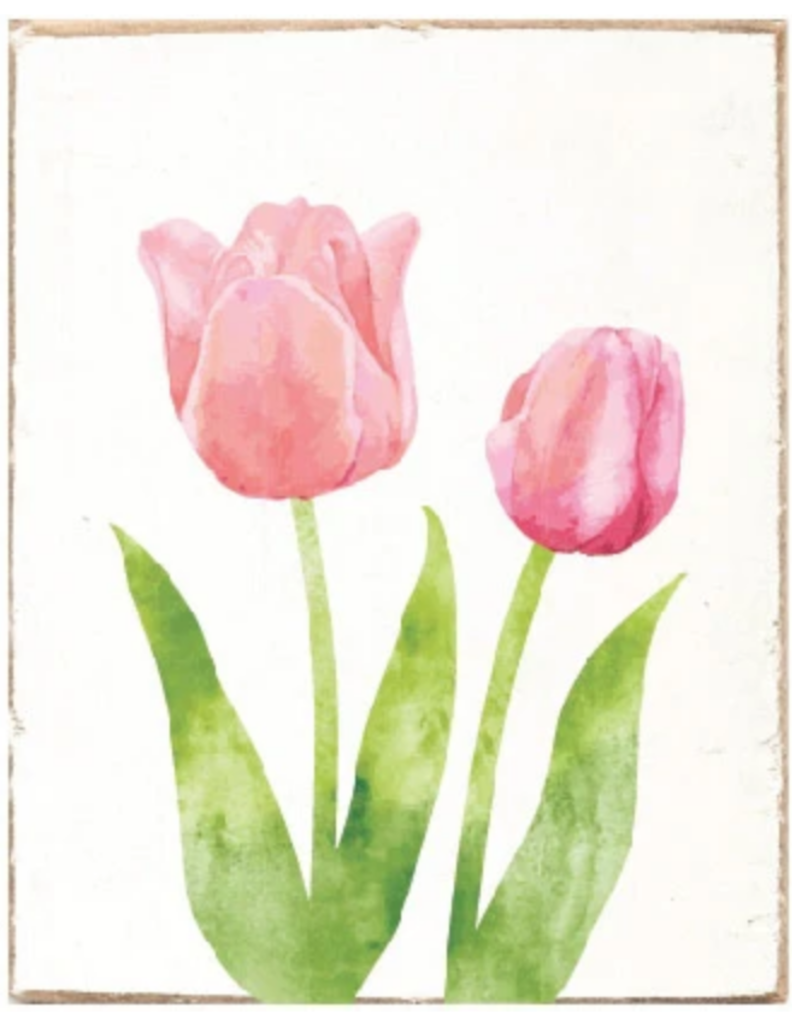 Rustic Marlin Rustic Marlin - Symbol Blocks Tulips
